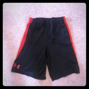 Black and red boys shorts
